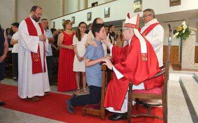 """""""Vós sois o rosto da Igreja"""" — afirmou D. Francisco Coelho em Vieira do Minho"""