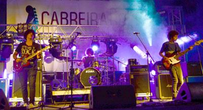 Bandas Cabreira Rock na final