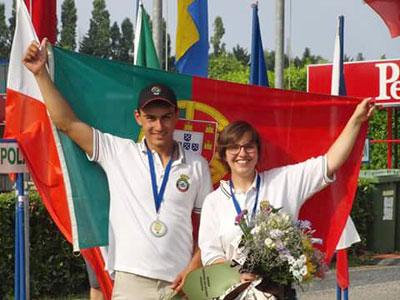 Rita Rodrigues medalha de prata