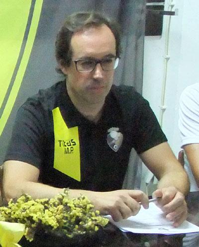 Miguel Paredes treinador do Vieira SC