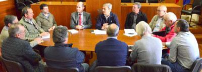 Edil reúne com presidentes de Junta de freguesia