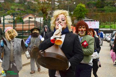 O melhor corso carnavalesco de sempre em Parada de Bouro