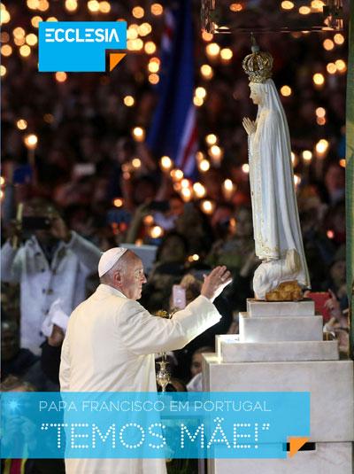 Revista comemorativa do Papa Francisco em Portugal