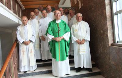 Bodas de Ouro de 12 sacerdotes