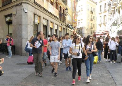 Alunos do Ensino Secundário visitam Madrid