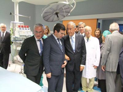 Marcelo Rebelo de Sousa visita Misericórdia da Póvoa de Lanhoso