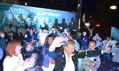 Mais de duas mil pessoas na apresentação de António Cardoso