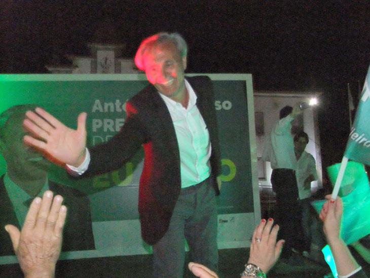 António Cardoso obtém resultado histórico