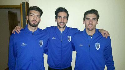 Rafinha, Luca e Gustinho na selecção AF Braga