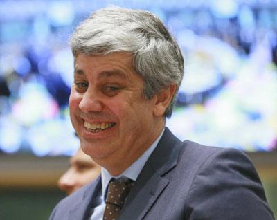 Centeno eleito presidente do Eurogrupo