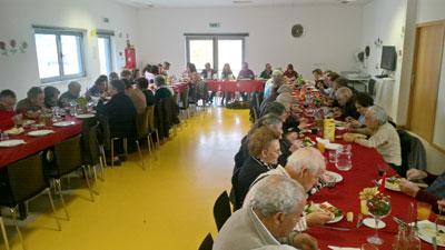 Festa de Natal no Centro Social Paroquial de Vieira