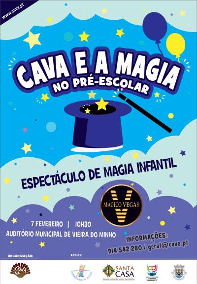 CAVA proporciona magia no Pré-Escolar