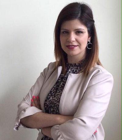 Vânia Cruz, presidente da concelhia do PS