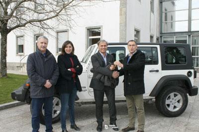 EDP Produção oferece Jeep à Autarquia
