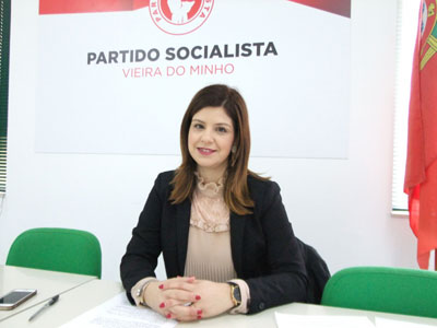 Vânia Cruz líder da concelhia do PS