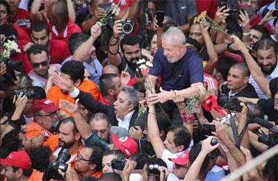 Lula da Silva cumpre 12 anos de prisão