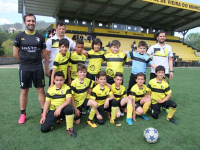 Vieira SC (Benjamins sub 10) em 11.º lugar série P
