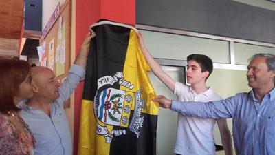 Inauguração da sede da Associação de Estudantes