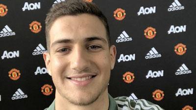 Diogo Dalot no Manchester United