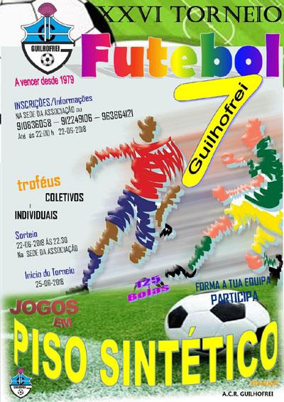 XXVI torneio futebol 7