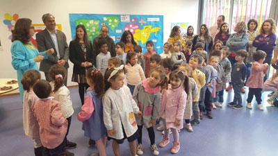"""Centro Escolar Cávado inaugurou espaço """"Floreiras no Meio de Brincadeiras"""""""