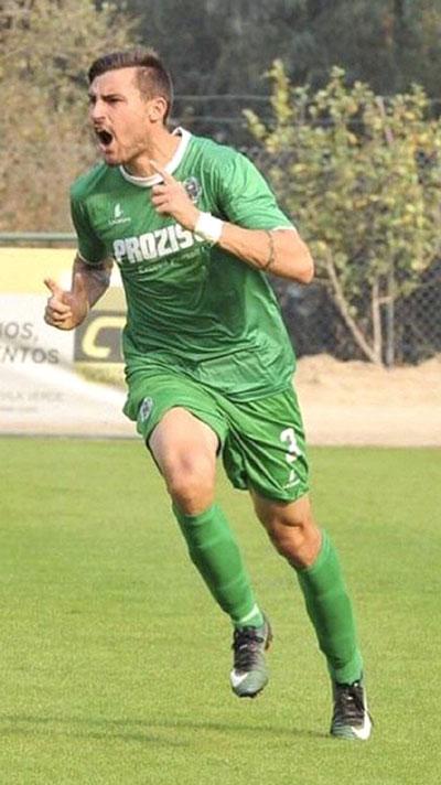 Rafael Vieira futebolista do SC Covilhã da II Liga