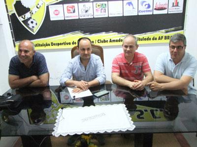 Vieira SC pede mais apoio e anuncia plantel