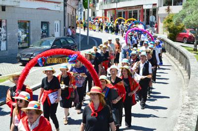 Marchas populares desfilaram em Vieira