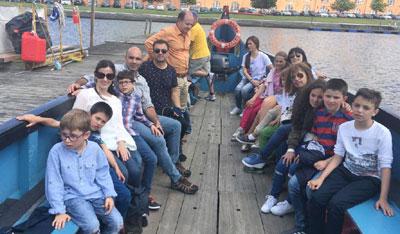 Alunos e docentes em Aveiro