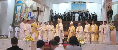 Braga tem cinco novos sacerdotes