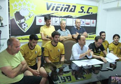 Vieira SC apresenta-se para nova época e Taça de Portugal