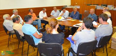 Executivo retoma reuniões com os presidentes de Junta