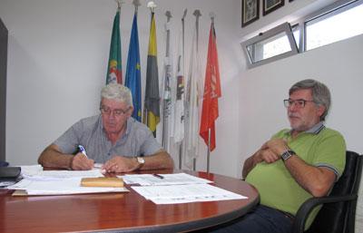 Padre Albino Carneiro, presidente da AHBVVM