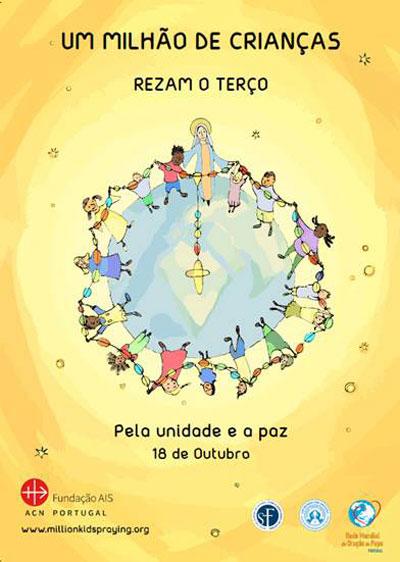 """""""Um milhão de crianças reza o Terço pela paz"""""""