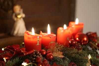 Coroa do Advento e Natal