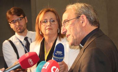 Cardeal D. António Marto sublinha ligação entre Roma e Fátima