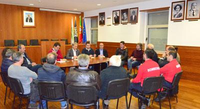 Câmara reúne com presidentes de Junta de Freguesia