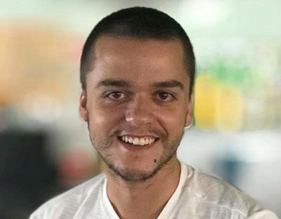 Christian Gonçalves treina o Mosteiro