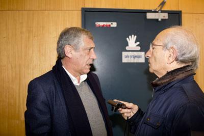 Entrevista de Fernando Santos, selecionador nacional, ao Jornal de Vieira