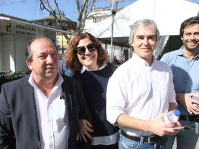Nuno Melo em campanha na Feira do Fumeiro