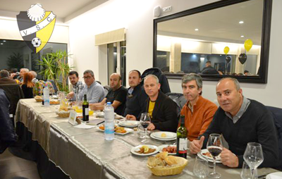 Jantar encerra aniversário do Vieira SC