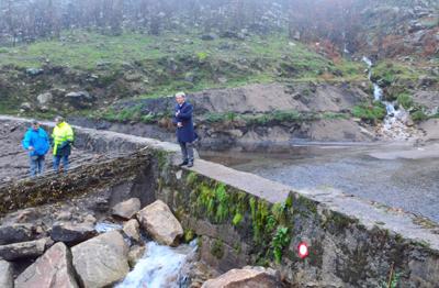 Recursos hídricos da serra da Cabreira