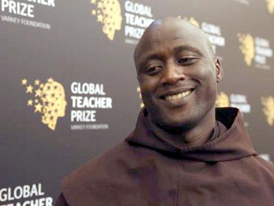 Padre franciscano <br>O Melhor Professor do Mundo