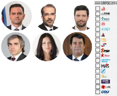 Eleições Europeias/2019 em 26 de Maio