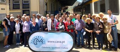 CAVA proporciona batismo de combóio a séniores