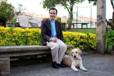 Tiago Varanda primeiro padre invisual em Portugal