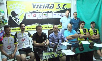 Apresentação do Vieira SC para a época 2019/2020