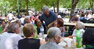 Quinhentos Seniores no Parque de Campismo