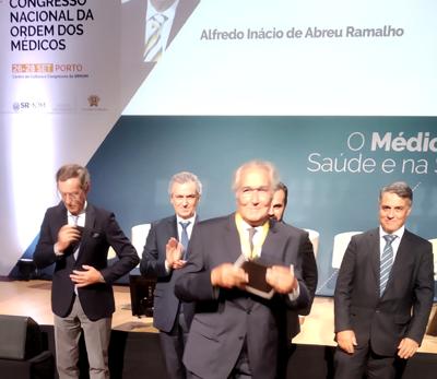 Dr. Alfredo Ramalho distinguido com a Medalha de Mérito da Ordem dos Médicos
