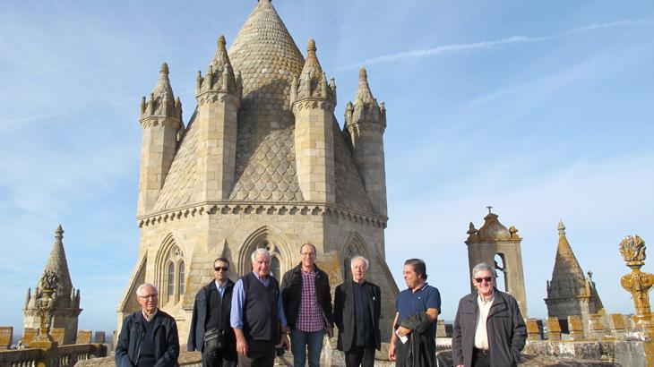 Clero de Vieira visitou Évora e rezou Vésperas com D. Francisco na Cartuxa